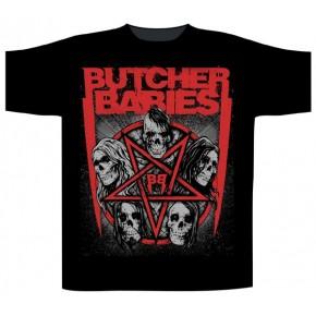 Butcher Babies - Star Tower (T-Shirt)