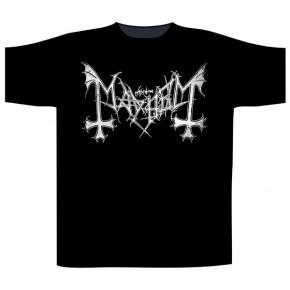 Mayhem - Distressed Logo (T-Shirt)