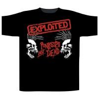 The Exploited - Punks Not Dead / Skulls (T-Shirt)