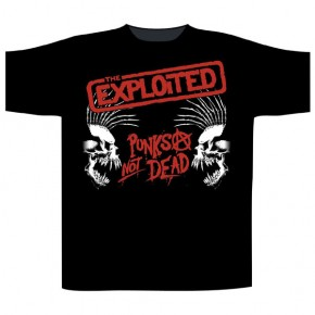The Exploited - Punks Not Dead / Skulls (T-Shirt)