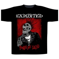 The Exploited - Splatter / Punks Not Dead (T-Shirt)