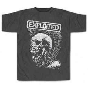 The Exploited - Vintage Skull (T-Shirt)