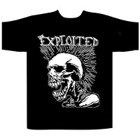 The Exploited - Mohican Skull (T-Shirt)