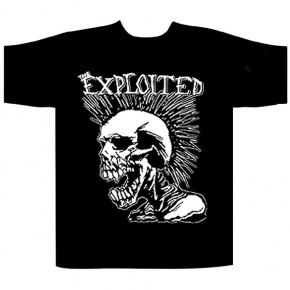 The Exploited - Mohican Skull (T-Shirt)