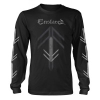 Enslaved - Rune Cross (Long Sleeved T-Shirt)