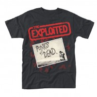 The Exploited - Punks Not Dead Red Logo (T-Shirt)