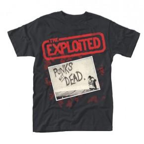 The Exploited - Punks Not Dead Red Logo (T-Shirt)
