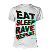 Fatboy Slim - Eat Sleep Rave Repeat (T-Shirt)