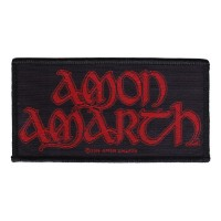 Amon Amarth - Red Logo (Patch)