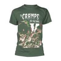 The Cramps - Off The Bone Green (T-Shirt)