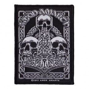 Amon Amarth - Three Skulls (Patch)