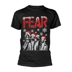 Fear - Gas Mask Santas (T-Shirt)