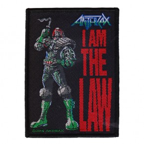 Anthrax - I Am The Law (Patch)