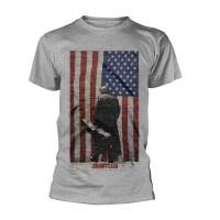 Johnny Cash - American Flag (T-Shirt)
