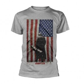 Johnny Cash - American Flag (T-Shirt)