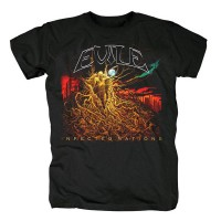 Evile - Infected Nations (T-Shirt)
