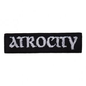 Atrocity - New Logo (Superstrip Patch)