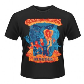 Orange Goblin - Blood Metal & Beers (T-Shirt)