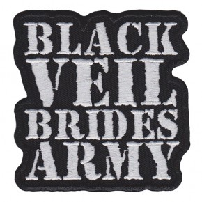 Black Veil Brides - Army Logo Embroidered (Patch)