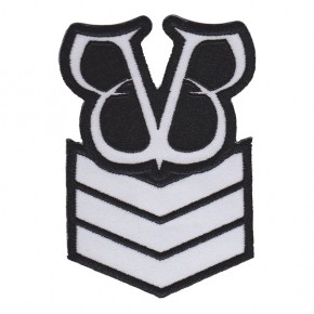 Black Veil Brides - Army Stripes Logo Embroidered (Patch)