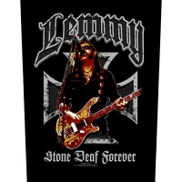 Lemmy - Stone Deaf Forever (Backpatch)