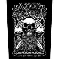 Amon Amarth - Bearded Skull (Backpatch)