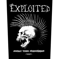 Exploited - Beat The Bastards (Backpatch)