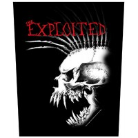 Exploited - Bastard Skull (Backpatch)