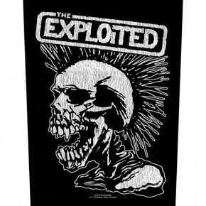 Exploited - Vintage Skull (Backpatch)