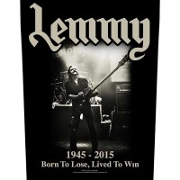Lemmy - Lived To Win (Backpatch)