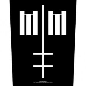 Marilyn Manson - Cross Logo (Backpatch)