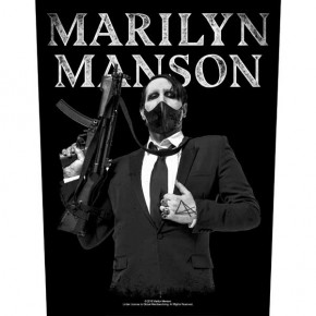 Marilyn Manson - Machine Gun (Backpatch)
