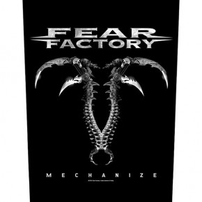 Fear Factory - Mechanize (Backpatch)