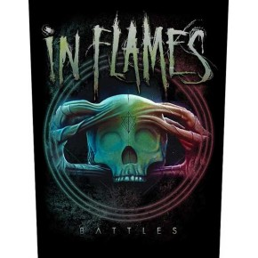 In Flames - Battles (Backpatch)