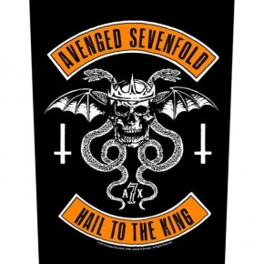 Avenged Sevenfold - Biker (Backpatch)