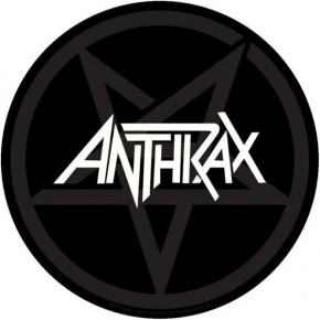 Anthrax - Pentathrax (Backpatch)