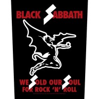 Black Sabbath - We Sold Our Souls (Backpatch)