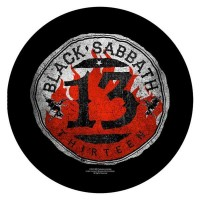 Black Sabbath - 13 Circular (Backpatch)
