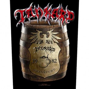 Tankard - Beer Barrel (Backpatch)