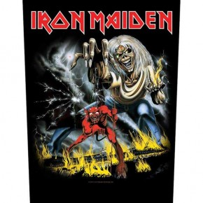 Iron Maiden - Number Of The Beast (Backpatch)