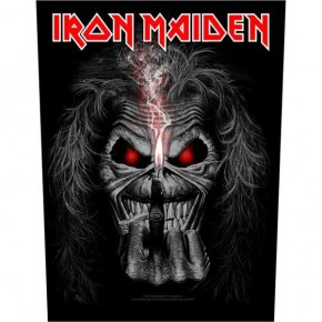 Iron Maiden - Eddie Candle Finger (Backpatch)