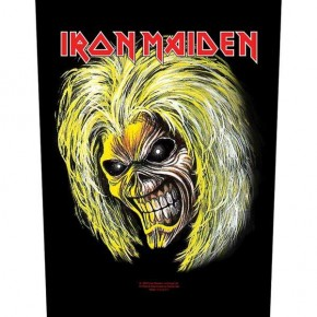 Iron Maiden - Killers Eddie Face (Backpatch)