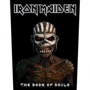 Iron Maiden - The Book Of Souls (Backpatch)
