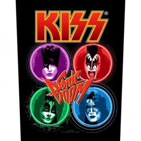 Kiss - Sonic Boom (Backpatch)