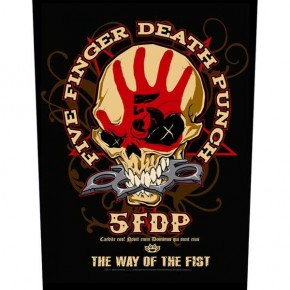 Five Finger Death Punch - The Way Of The Fist (Backpatch)