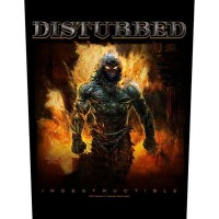 Disturbed - Indestructible (Backpatch)