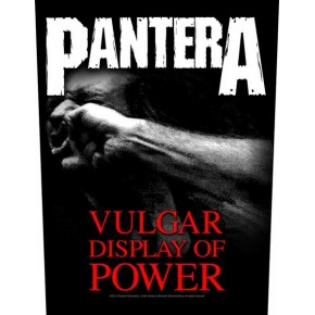 Pantera - Vulgar Display Of Power (Backpatch)