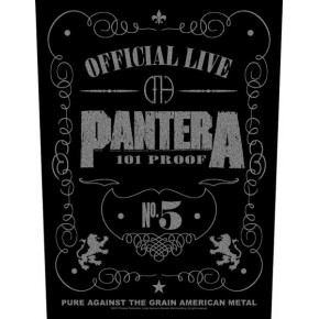 Pantera - 101% Proof (Backpatch)