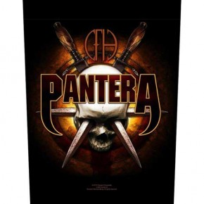 Pantera - Skull Knives (Backpatch)