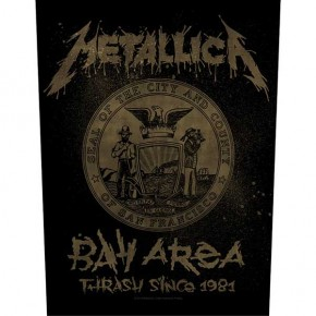 Metallica - Bay Area Thrash (Backpatch)